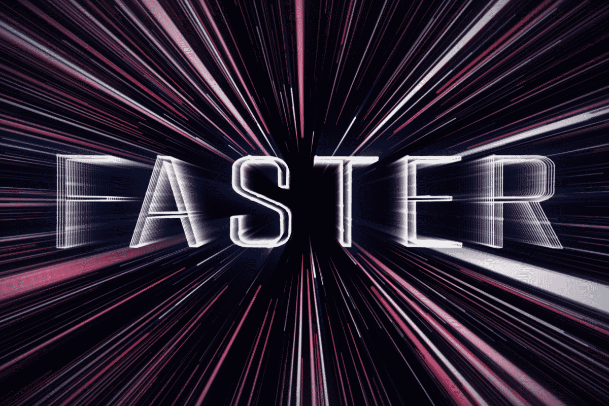 FASTER – Visual Intro Design