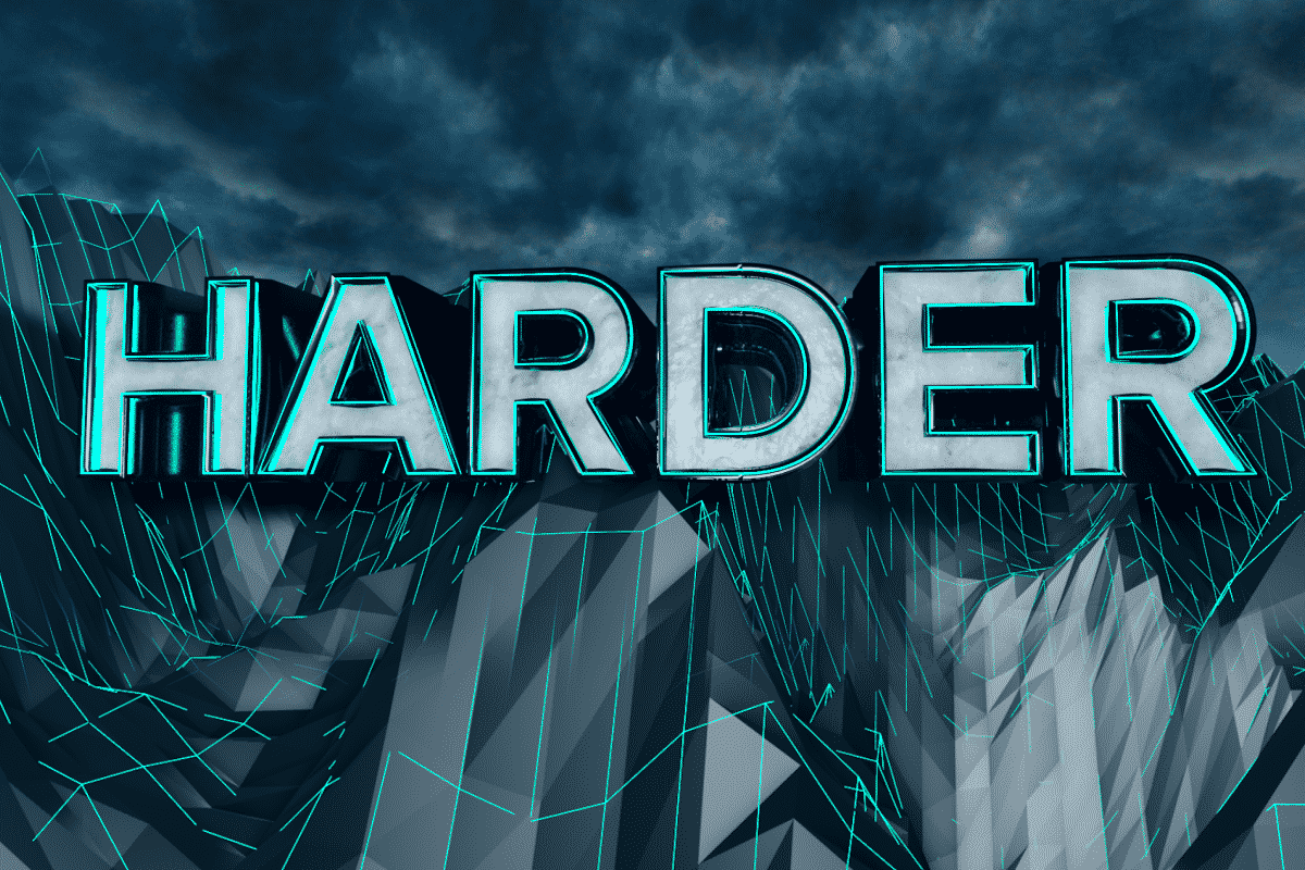 HARDER – Visual Intro Design