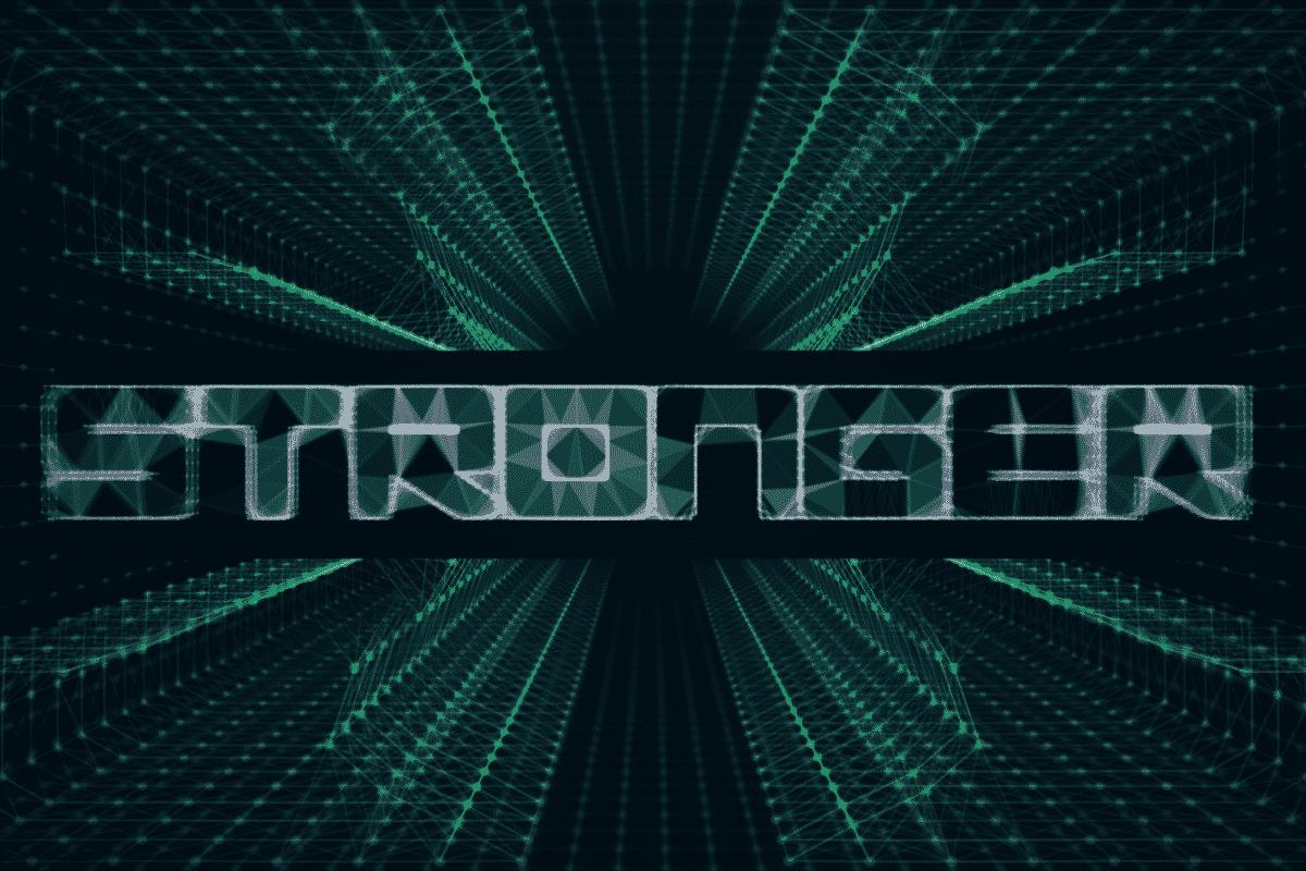 STRONGER  Visual Intro Design