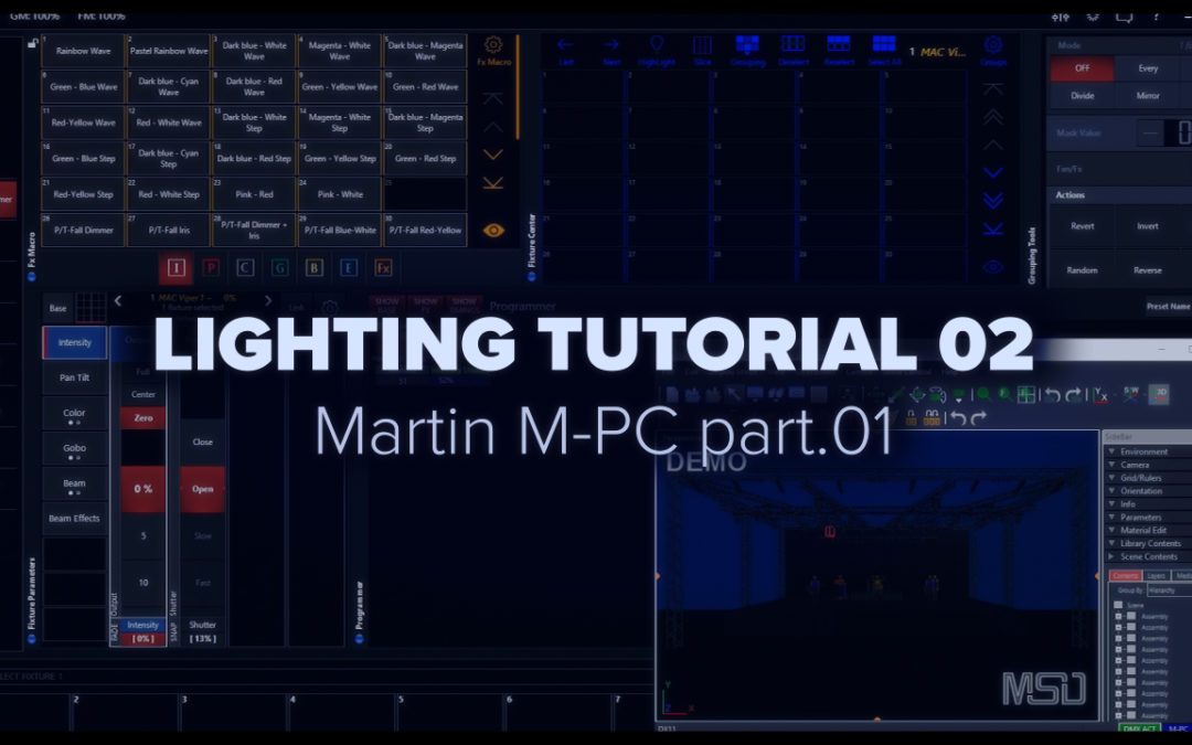 LIGHTING TUTORIAL 02 – Martin MPC part.01