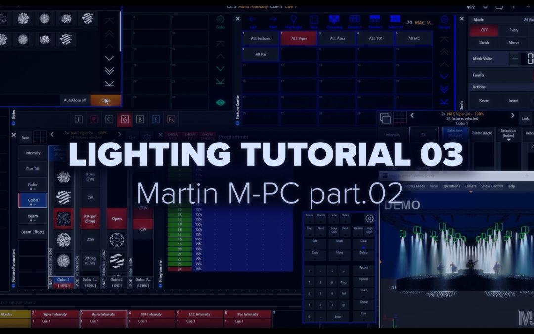 LIGHTING TUTORIAL 03 – Martin MPC part.02