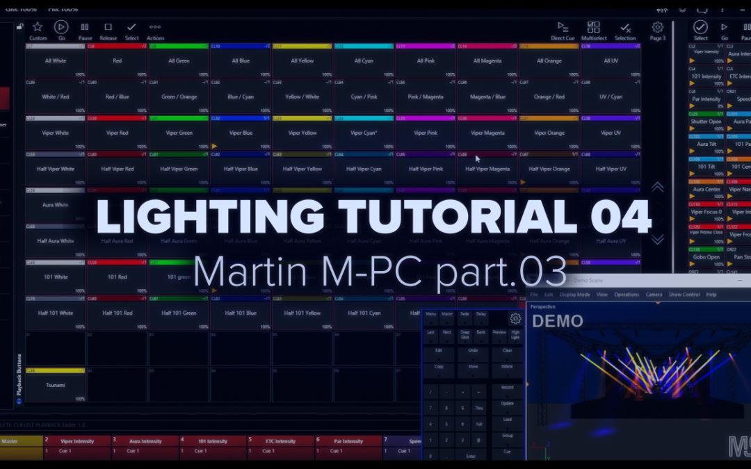 LIGHTING TUTORIAL 04 – Martin MPC part.03
